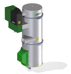 Промышленный вакуумный загрузчик для сыпучих материалов piFLOWf
